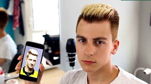 Marco Reus Hairstyle Marco Reus Stylizacja Hairstylerz Haircut Tutorial Youtube