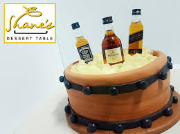 liquor table liquor bucket cake u2013 shanes dessert table