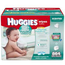 huggies one u0026 done refreshing baby wipes 864 ct walmart com