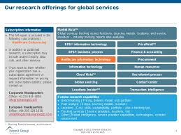 it application outsourcing ao in the healthcare provider industry u2026