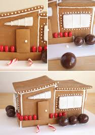 modern gingerbread house oh happy day christmas pinterest