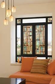 Decorative Window Decals For Home Frosted Window Film With Decorative Border Thinking Of This For