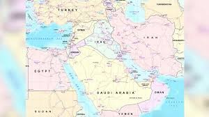 North Africa Middle East Map by The New Arab Cold War U S Policy Sows Conflict Unrest Across