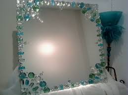 Mirror Decor Ideas Mirror Design Idea Decorating The Edge With Gems Instead Of