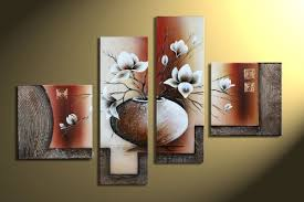 canvas decorations for home wieco art stretched and framed 100 hand painted modern canvas