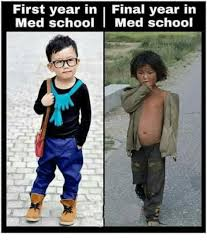 Med School Memes - first year in i final year in med school med school meme on me me