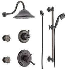 faucet dss cassidy 1703rb in venetian bronze by delta