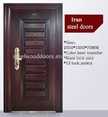 Residential Security Doors Exterior Nigeria Entrance Exterior Cheap Steel Security Door Design