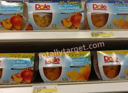 dole fruit snacks dole fruit cup 4 pk snacks as low as 55 at target totallytarget