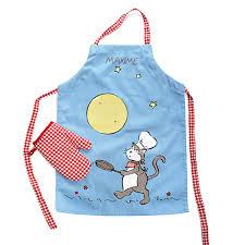 tablier cuisine enfants tablier nominatif enfant les créations de dame tartine