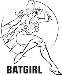free printable female superhero coloring pages redcabworcester