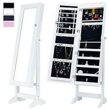 mirror and jewelry cabinet standing mirror jewelry cabinet for bedroom