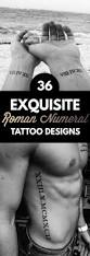 36 exquisite roman numeral tattoo designs tattooblend