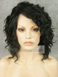 jet black short hair lace front wig wavy black short hair new style wig n17 1 drag