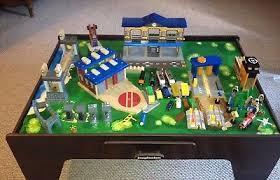 imaginarium train set with table 55 piece imaginarium waterfall mountain train table best waterfall 2017