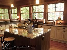 Rustic Kitchen Countertops - kitchens wood countertop butcherblock and bar top blog