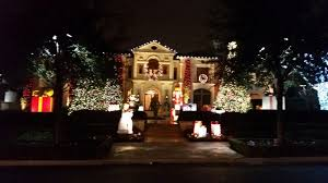 christmas light park near me highland park christmas lights dallas