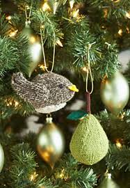 ravelry partridge or a pear tree ornaments pattern by patons