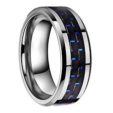 titanium tungsten rings images 8mm tungsten ring blue and black carbon fiber inlay wr8941s jpg
