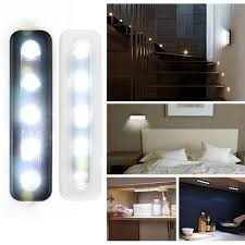 stick on kitchen lights new 5x bright battery operated bulb stick on push on strip kitchen