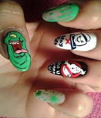 30 examples of geeky nail art designs