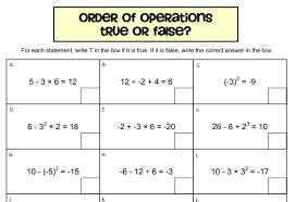 bidmas u0026 order of operations