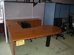 U Shaped Desks Oak U Shape Desk