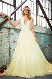 Yellow Dresses For Weddings Lurelly Bridal High Fashion Wedding Dresses Inspiration