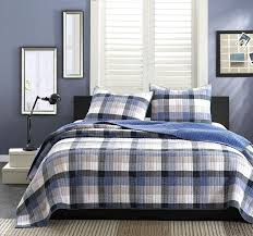 Jcpenney Bedspreads And Quilts Amazon Com Ink Ivy Maddox 2 Piece Quilt Set Full Queen Blue