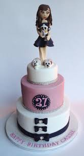3 tier 21st birthday cake the candy cake company