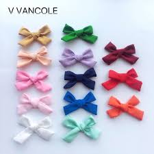 bow for hair 5pcs lot diy boutique with fabric hair bow for hair accessories