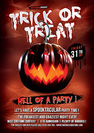 Halloween Flyer Psd Bundle V3 To Customize With Photoshop
