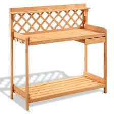 gardening bench gardening bench garden wood work potting station with hook kneeler