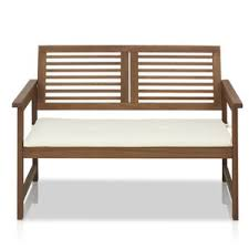 Benches With Cushions - modern outdoor benches allmodern