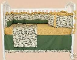 bubble beach slumber safari baby crib bedding set jungle elephant