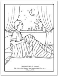 samuel coloring pages bible funycoloring