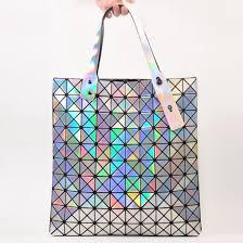 holographic bags bag issey miyake baobao bag holographic handbag holographic