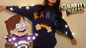mabel sweater gravity falls how to mabel s lightup sweater from gravity falls