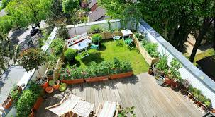 rooftop landscaping chic inspiration tobias39s garden in berlin