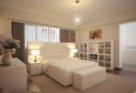 white bedroom ideas with colour white wooden platform bed natural