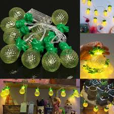 10 led pineapple string lights party patio wedding christmas