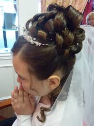 cute hairstyles for first communion first communion hairstyles long hair cute first holy communion