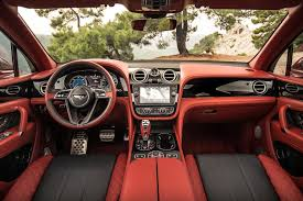 orange bentley bentayga bentayga named to wards 2017 interior of the year crewe craft