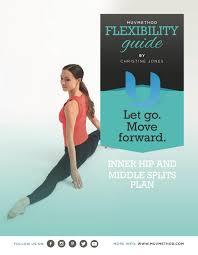 inner hip and middle split plan yoga training by muvmethod