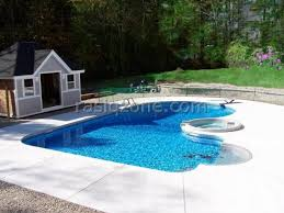 great example of a courtyard swimming pool design this pool also