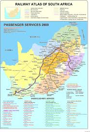 Southern Africa Map Getting Around In South Africa Flight Air Rail Bus Car