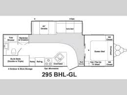 Keystone Rv Floor Plans Used 2005 Keystone Rv Springdale 295 Bhl Gl Travel Trailer At