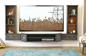Tv Stand French Shabby Chic Floating Tv Stand Entertainment Center Wall