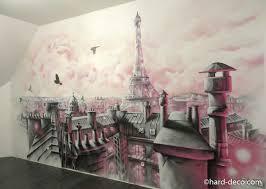 fresque murale chambre fresque murale pour chambre de fille avec toits galerie avec chambre
