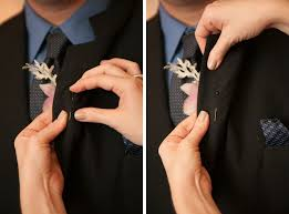 boutonniere pins how to properly pin a boutonniere casey fatchett photography